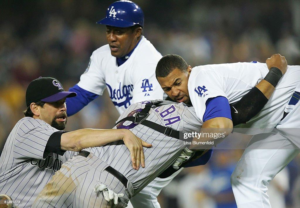Colorado Rockies v Los Angeles Dodgers : ニュース写真
