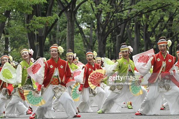 CONTENT] Yosakoi festival originated in Kochi City Shikoku and is annually held in August there but nowadays Yosakoi is held in many parts of Japan...