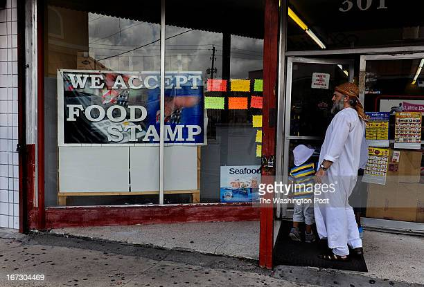 Yosef Muslet a local business owner in Belle Glade says that he knows many seniors in the town that qualify for SNAP but will not apply The sign for...