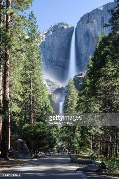 yosemite falls - crawford notch stock pictures, royalty-free photos & images