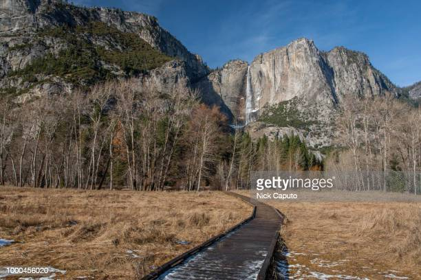 yosemite national park - caputo foto e immagini stock