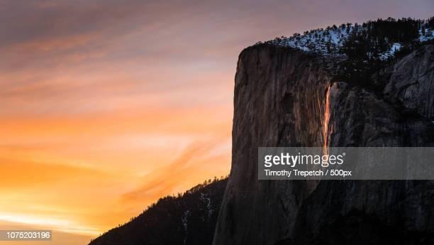 Yosemite Natural 'Firefall'