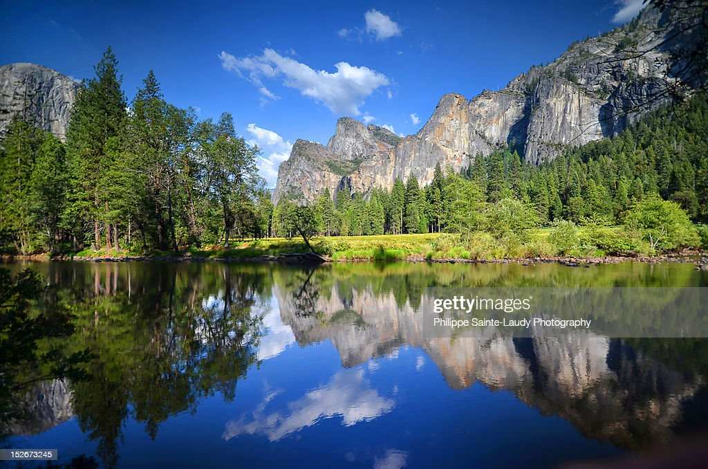 Yosemite reflection : Stock Photo