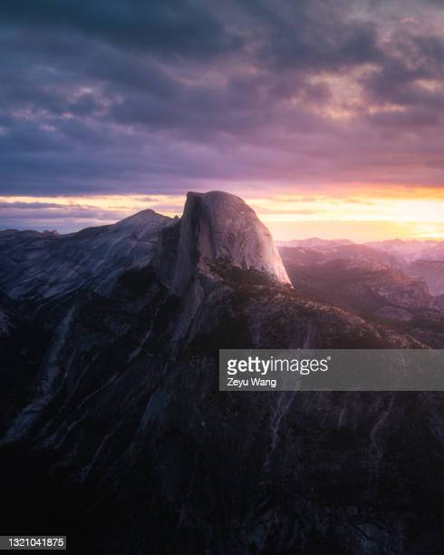 yosemite sunrise - central california stock pictures, royalty-free photos & images