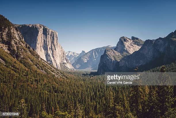 Yosemite Tunnel View, California, USA