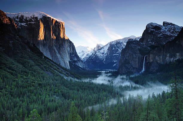 Yosemite valley in morning