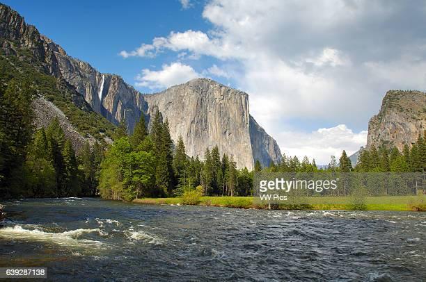 Yosemite Valley in Spring Ribbon Fall El Capitan Cathedral Rocks Bridalveil Fall and the Merced River Gates of the Valley Valley View Yosemite...