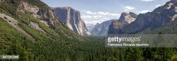 Yosemite Valley panorama, as seen from Tunnel View