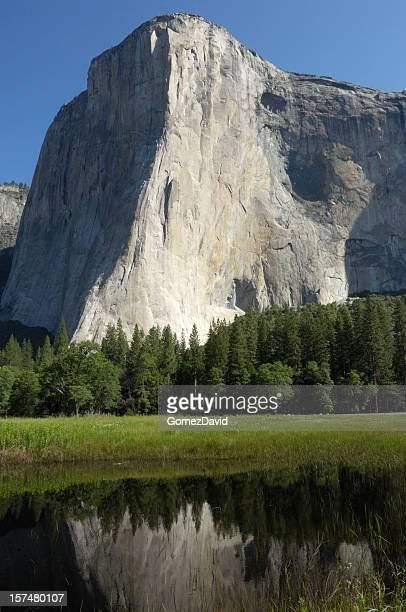 Yosemite's El Capitan in the Spring