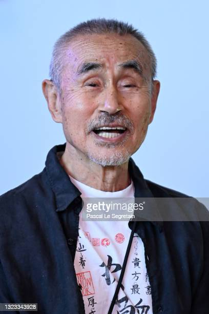 Yoshi Oida attends the Plurielles Festival - Day Three At Cinema Majestic on June 13, 2021 in Compiegne, France.