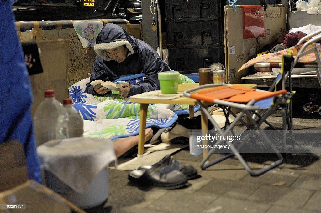Homelessness in Japan : ニュース写真