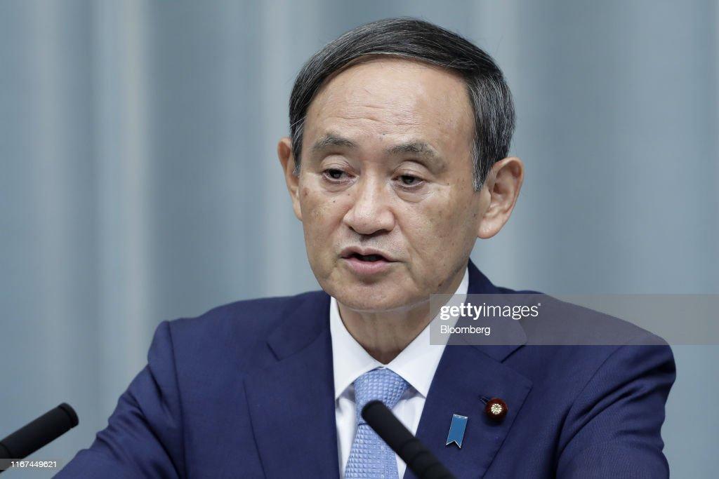 Japan's Prime Minister Shinzo Abe Reshuffles Cabinet : ニュース写真