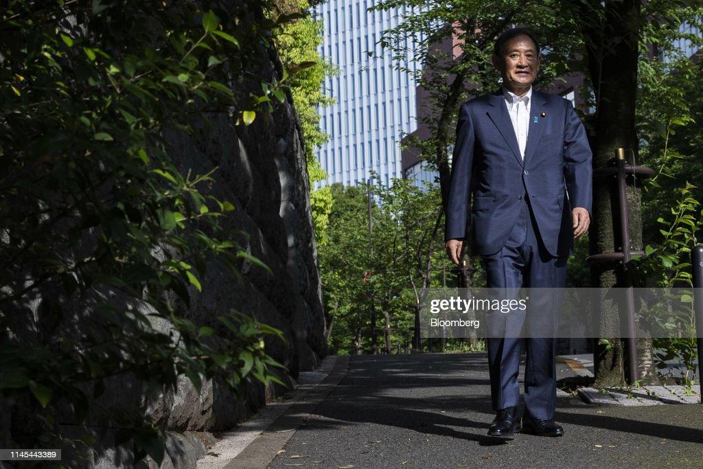 JPN: Japan Chief Cabinet Secretary Yoshihide Suga Interview