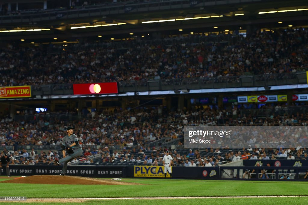 Arizona Diamondbacks v New York Yankees : News Photo
