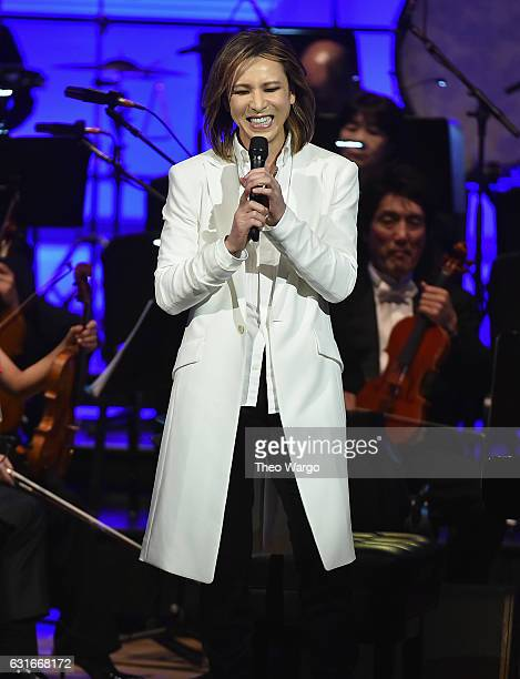 Yoshiki And The Tokyo Philharmonic Orchestra In Concert at Carnegie Hall on January 13 2017 in New York City