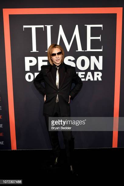 Yoshiki attends the TIME Person Of The Year Celebration at Capitale on December 12 2018 in New York City