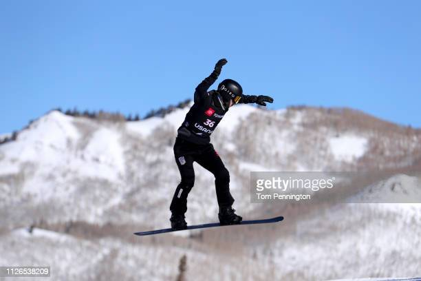 Yoshiki Takahara of Japan comptes during the Men's Snowboard Cross Qualifyer of the FIS Snowboard World Championships on January 31 2019 at Solitude...