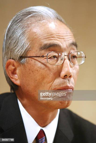 Yoshinori Ida Isuzu Motors Ltd speaks during an interview in the Bloomberg office in Tokyo Japan on Monday May 14 2007 Isuzu Motors Ltd Japan's...