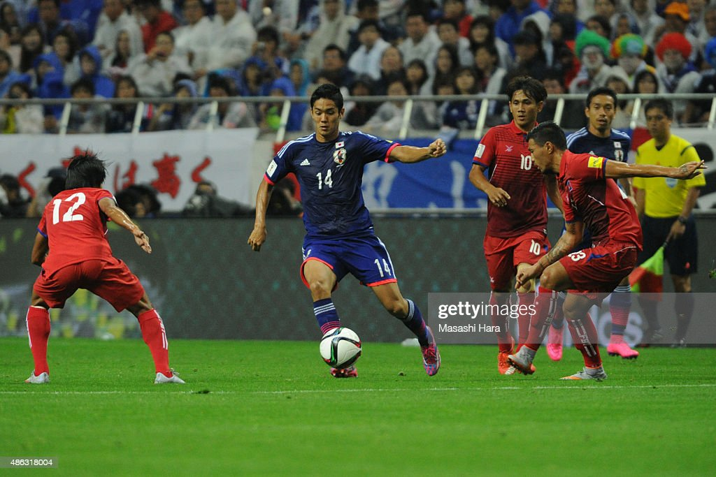 Japan v Cambodia - 2018 FIFA World Cup Qualifier Round 2 - Group E : ニュース写真