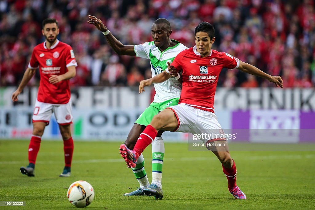 1. FSV Mainz 05 v VfL Wolfsburg - Bundesliga : News Photo