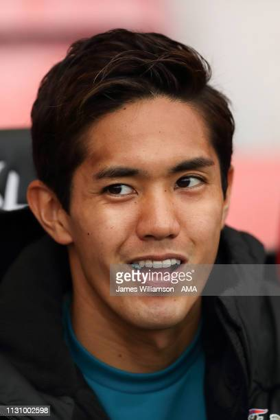 Yoshinori Muto of Newcastle United during the Premier League match between AFC Bournemouth and Newcastle United at Vitality Stadium on March 16 2019...