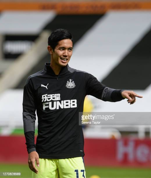 Yoshinori Muto of Newcastle United FC during the Pre Season Friendly between Newcastle United and Stoke City at St James' Park on September 05 2020...