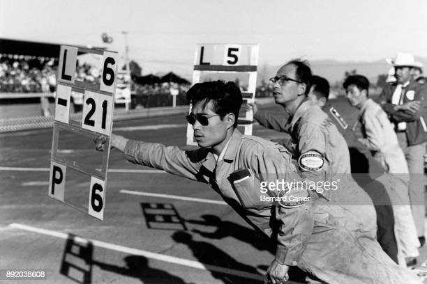 Yoshio Nakamura Grand Prix of Mexico Autodromo Hermanos Rodriguez Magdalena Mixhuca 24 October 1965 Yoshio Nakamura engineer extraordinaire and...