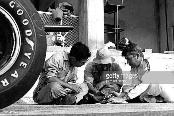 Yoshio Nakamura, Ronnie Bucknum, Honda RA271, Grand Prix of Germany, Nurburgring, 02 August 1964. Yoshio Nakamura, father of the Honda RA271, with...