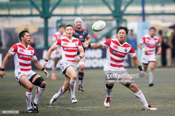 Yoshitaka Tokunaga of Japan in action during the Asia Rugby Championship 2017 match between Hong Kong and Japan on May 13 2017 in Hong Kong Hong Kong