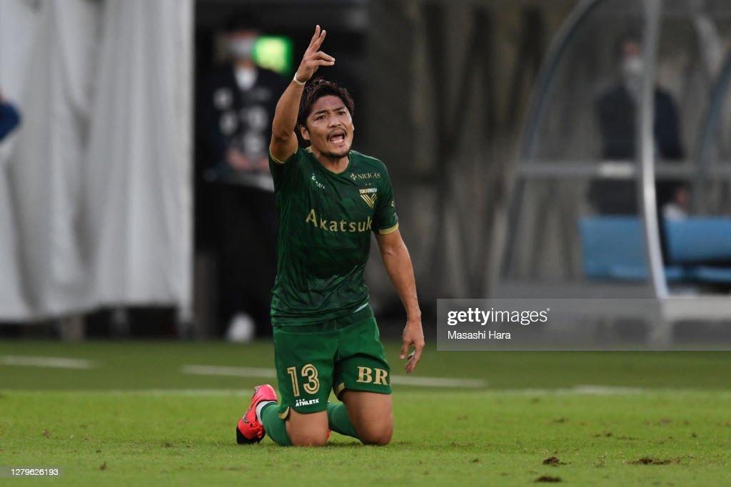 Tokyo Verdy v Fagiano Okayama - J.League Meiji Yasuda J2 : ニュース写真