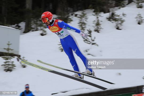 Yoshito Watabe of Japan during the Nordic Combined World Cup at WM Stadion Ramsau on December 22 2018 in Ramsau Austria