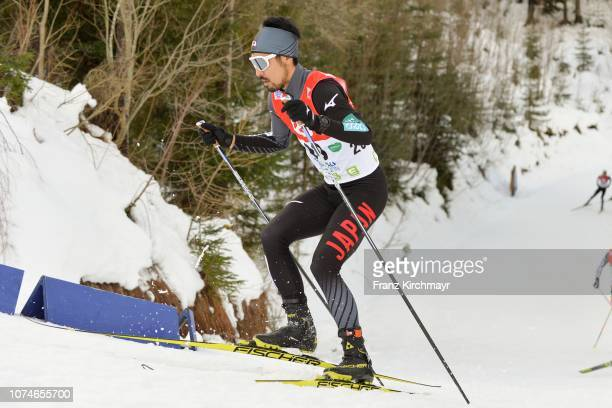 Yoshito Watabe of Japan during the Nordic Combined World Cup at WM Stadion Ramsau on December 23 2018 in Ramsau Austria