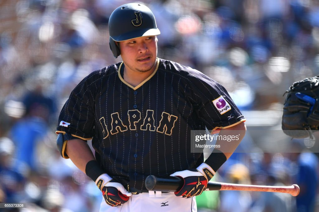 Japan v Los Angeles Dodgers : News Photo