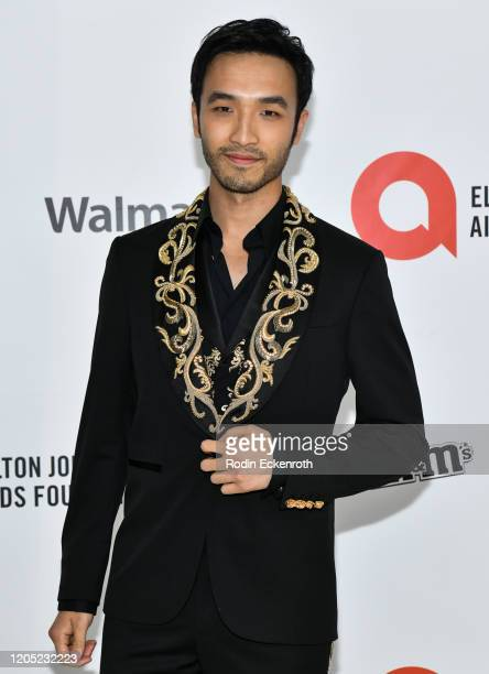 Yoson An attends the 28th Annual Elton John AIDS Foundation Academy Awards Viewing Party Sponsored By IMDb And Neuro Drinks on February 09 2020 in...