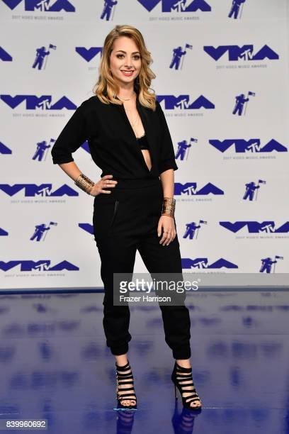 Yoss Hoffman attends the 2017 MTV Video Music Awards at The Forum on August 27 2017 in Inglewood California