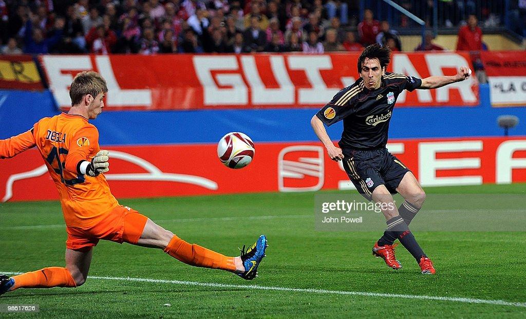 Atletico Madrid v Liverpool - UEFA Europa League : News Photo