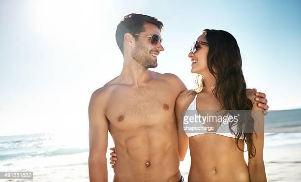 Usted y yo por el mar