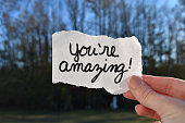 You are amazing note