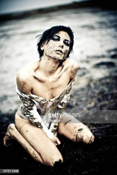 you are so dirty - women in wet t shirts stock photos and pictures