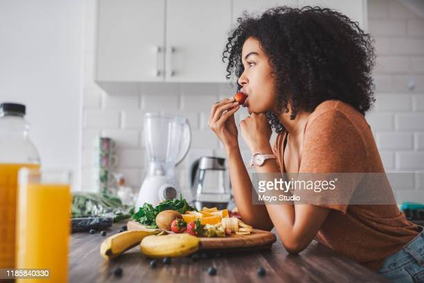 you are what you eat - berry fruit stock pictures, royalty-free photos & images