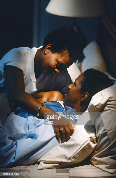"You Beta Your Life"" Episode 5 -- Pictured: Alfre Woodard as Dr. Roxanne Turner, Denzel Washington as Dr. Philip Chandler"