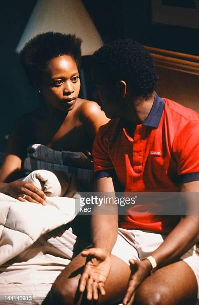 "You Beta Your Life"" Episode 5 -- Pictured: Alfre Woodard as Dr. Roxanne Turner, Denzel Washington as Dr. Philip Chandler --"