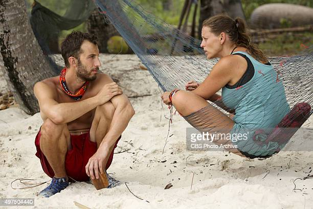 'You Call We'll Haul' Stephen Fishbach and Kimmi Kappenberg during the eighth episode of SURVIVOR Wednesday Nov 11 The new season in Cambodia themed...