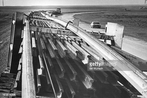 DEC 9 1970 DEC 14 1970 You Can Bet It'll Be a Far Cry from the Wabash Cannonball Quartermilelong sections of railroad track on a special train are...