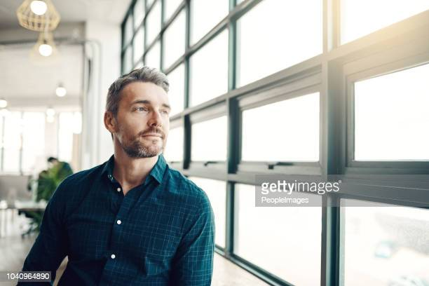 you can wait for opportunity or you can create it - businessman contemplation stock pictures, royalty-free photos & images