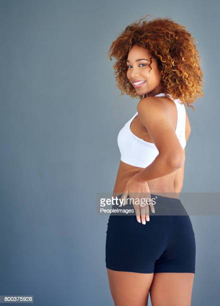 you can whine or you can look fine - skinny black woman stock photos and pictures