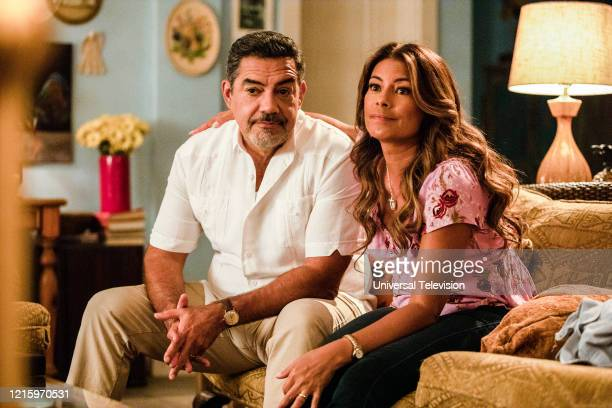 "You Can't Always Get What You Want"" Episode 109 -- Pictured: Carlos Gomez as Rafael Garcia, Lisa Vidal as Mari Garcia --"