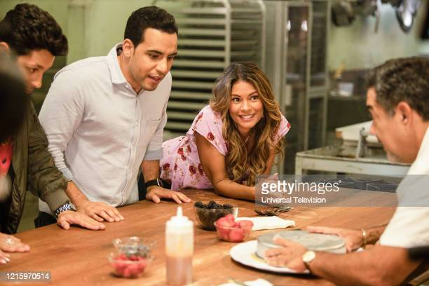 "You Can't Always Get What You Want"" Episode 109 -- Pictured: David Del Rio as Mateo Garcia, Victor Rasuk as Daniel Garcia, Lisa Vidal as Mari Garcia,..."