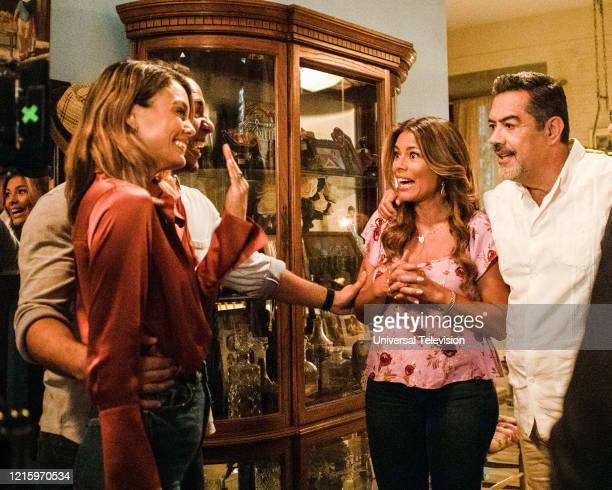 BEAUTY You Can't Always Get What You Want Episode 109 Pictured Nathalie Kelley as Noa Hamilton Victor Rasuk as Daniel Garcia Lisa Vidal as Mari...