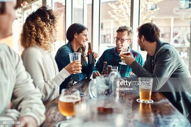 Glück kann man nicht kaufen, aber Sie können Bier kaufen